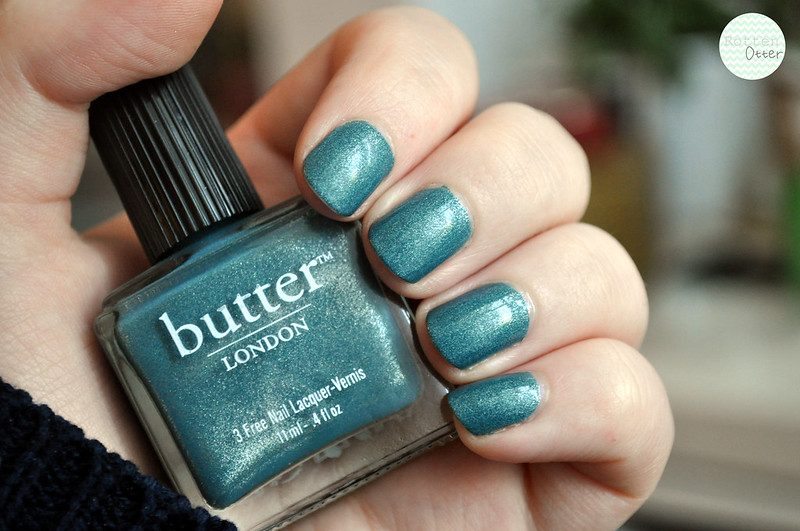 butter london victoriana notd nail polish nail tek foundation II base coat sally hansen hard as nails top coat rottenotter rotten otter blog 2