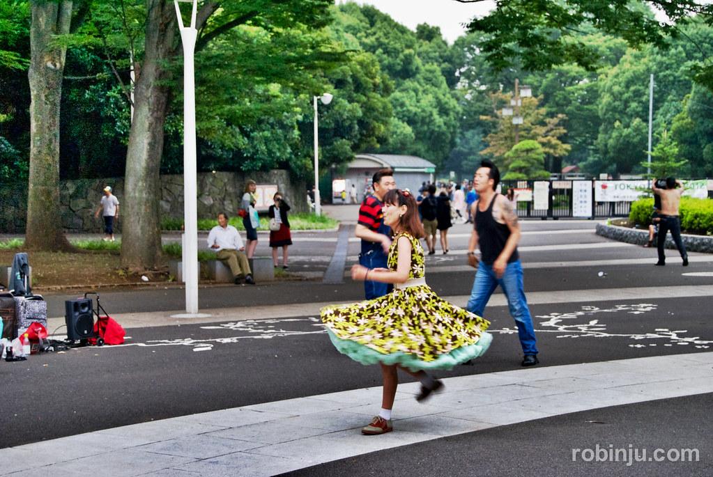 Tokio, Yoyogi Park (I)- Let's rock-007