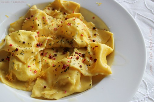 Lemon & Goat Cheese Ravioli 4