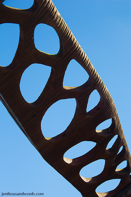 Sculpture against sky