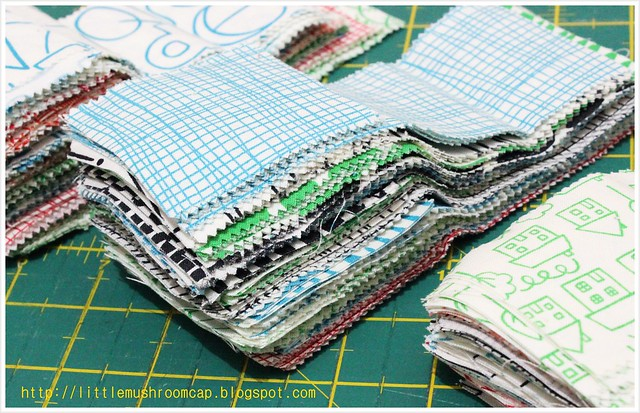 Bundle of joy 3 - into quilts!