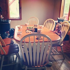 New dining table!