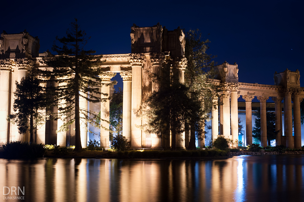 Palace of Fine Arts, San Francisco.