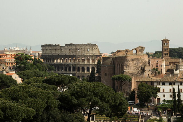 Colosseum and Forum - Rome, Italy