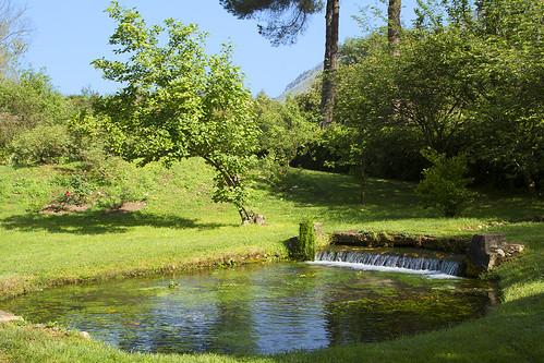 park trip travel italien italy green water canon garden spring flora ruins italia blossom latina italie lazio canonef24105mmf4lisusm giardinodininfa canoneos7d ninfagardens cisternadilatina antoniovaccarini
