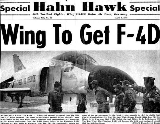 Hahn gets the F-4D