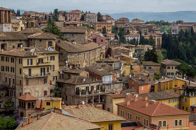 Streets of Perugia - Umbria, Italy