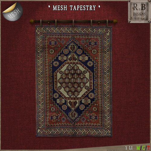 PROMO ! *RnB* Mesh Moroccan Tapestry 4 (copy)