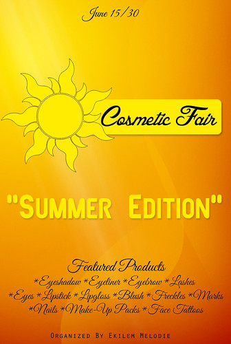 Cosmetic Fair Summer Edition by Ekilem Melodie - MONS