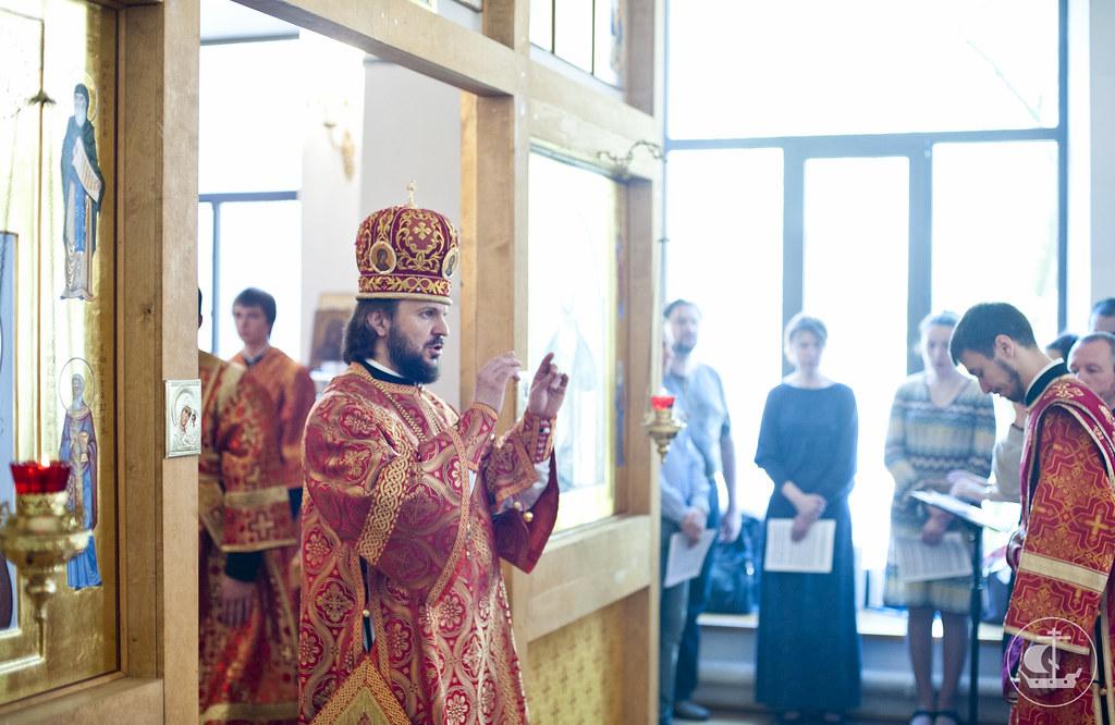 16 мая 2013, Миссионерская Литургия в домовом храме СПбАППО