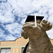 Rhody the Ram at Graduation 3