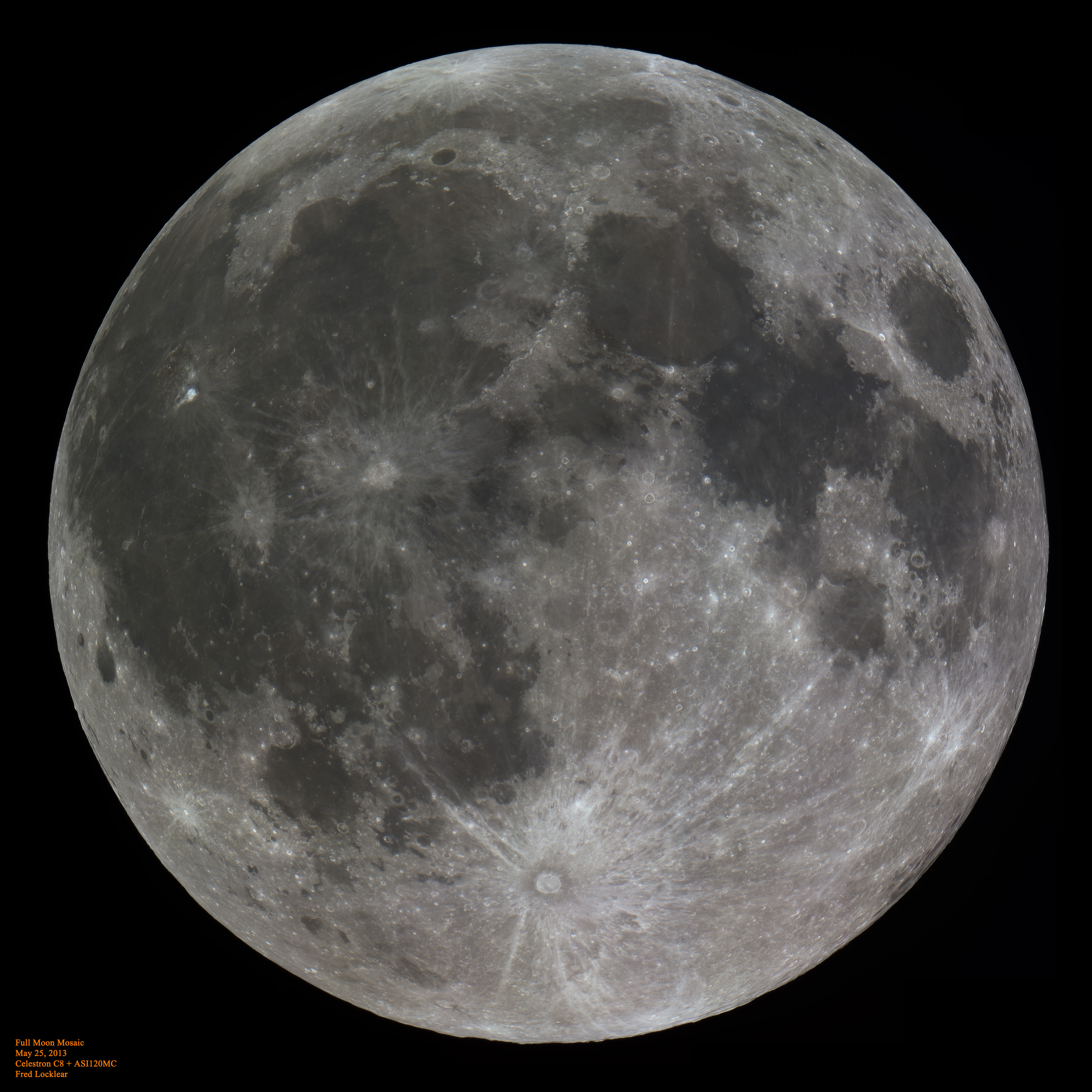 Full Moon: Full Moon: Amazingly Detailed Hi-res Image Of The Moon