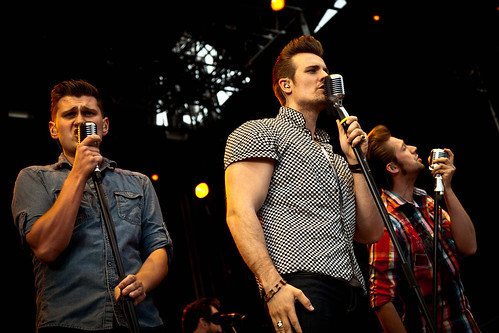 The Baseballs live bei Krieau Rocks - Green Day