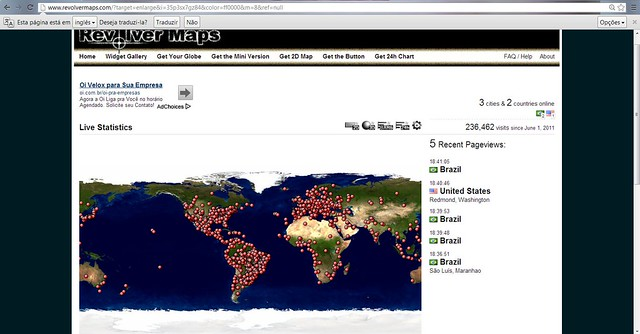 junho a 236 462 visitas mundiais