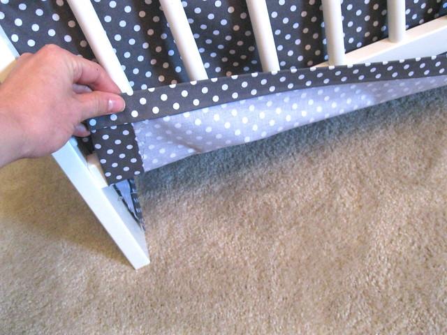 crib skirt