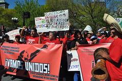 Queremos el regreso de nuestros familiares deportados!
