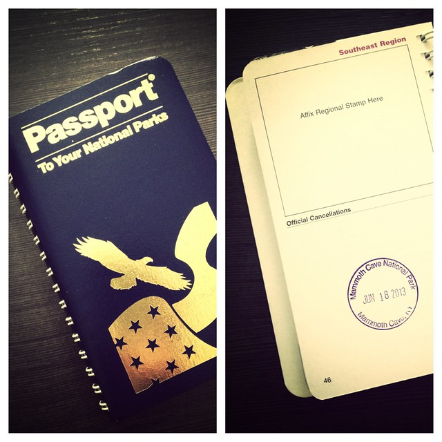 National Parks Passport - great souvenir for kids