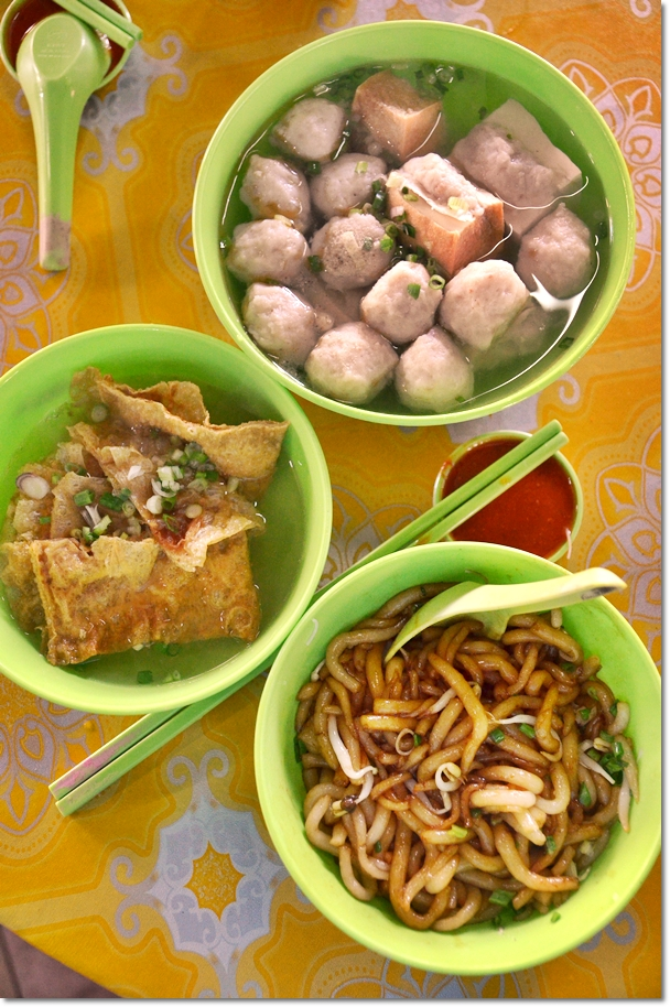 Simee Market Fish Ball Noodles