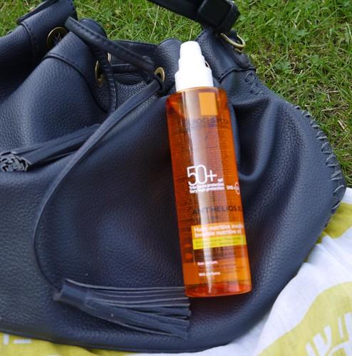 La Roche posay sun oil
