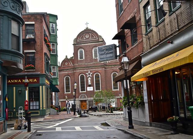 old north church, freedom trail boston