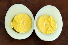 18-minute hard boiled egg