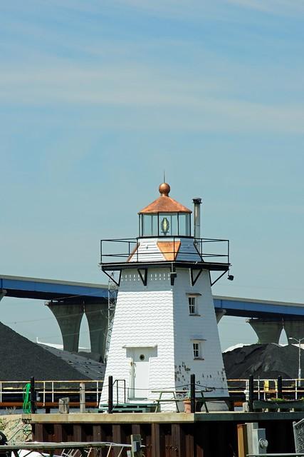 Grassy Island Range (front) Lighthouse, WI