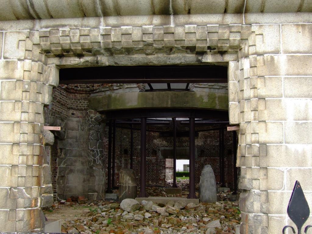 View into the Hiroshima Bomb Dome