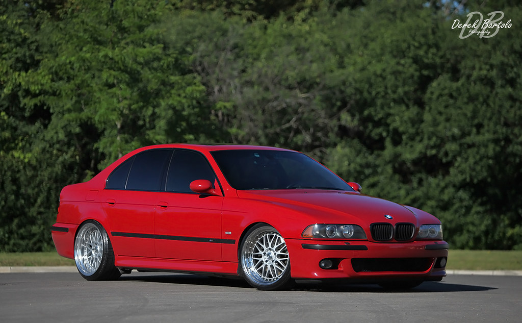 Keeping It Rial Imola Red Fitted Professional Shots Bmw M5 Forum And M6 Forums