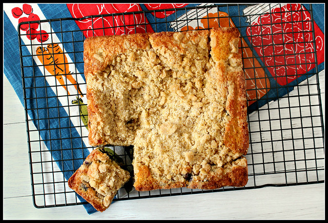 Blueberry Cornmeal Buckle