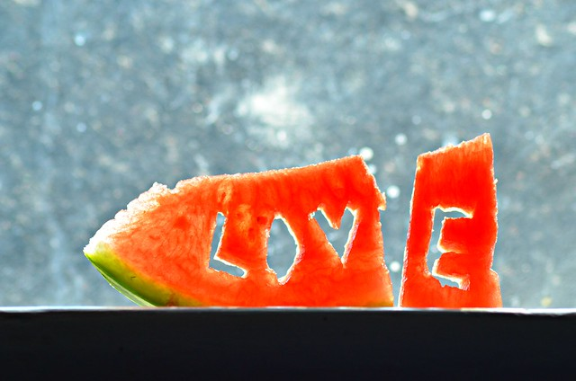 I LOVE watermelon ....