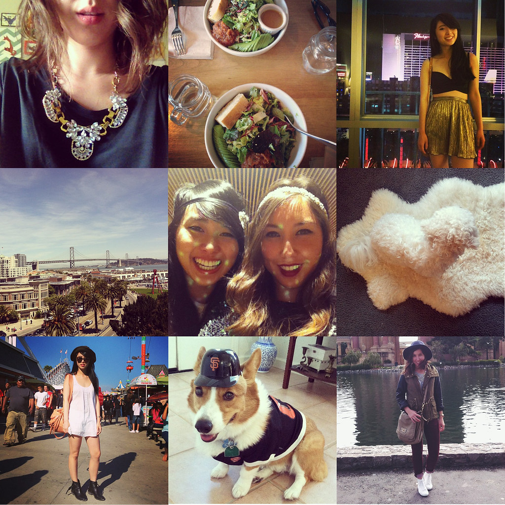 Readytwowear Instagram, cute corgi, giants game, san francisco fashion, sf style blog, best friends, ootd
