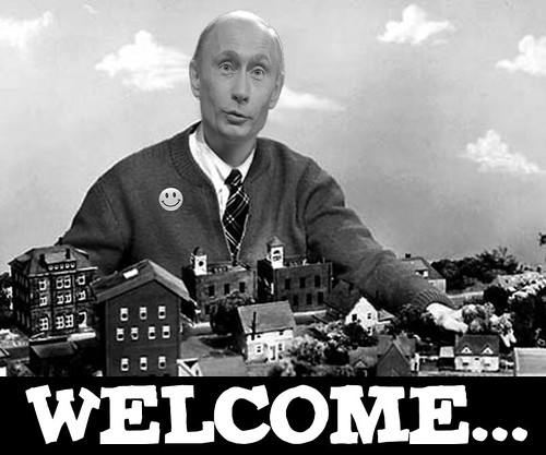 MR PUTIN'S NEIGHBORHOOD by WilliamBanzai7/Colonel Flick