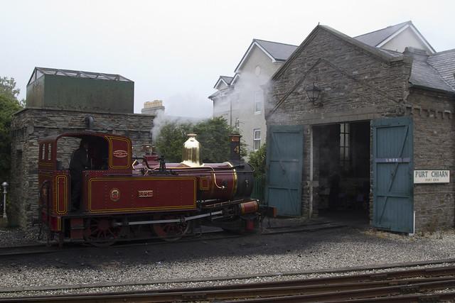 Isle of Man Railway No.4 Steam Engine