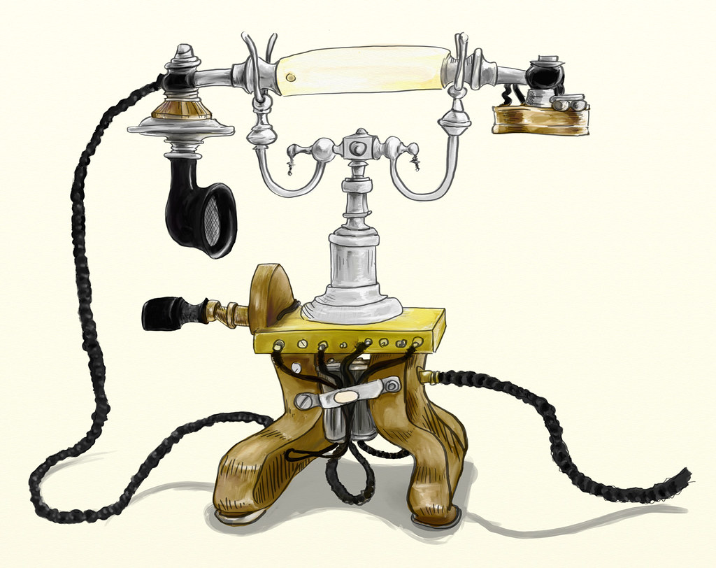 Ottoman style early phone