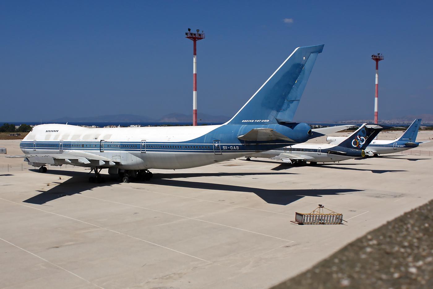 Olympic Boeing 747-200 SX-OAB