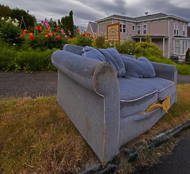 Soaked sofa