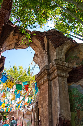Flags, Ruins, and Shade by Jeff.Hamm.Photography