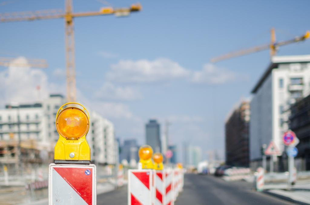 Fotodokumentation: Baudschungel im Europaviertel Frankfurt