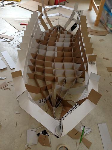 Paperboat 3 frame