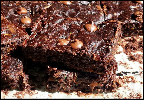 Chocolate Brownies with Zucchini & Pumpkin