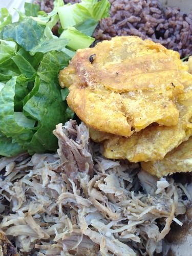 Lechon Plate from El Cubano