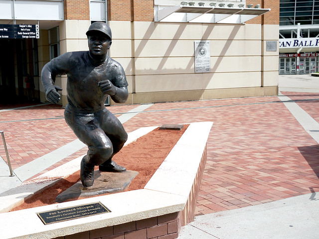 Joe Morgan statue reveal
