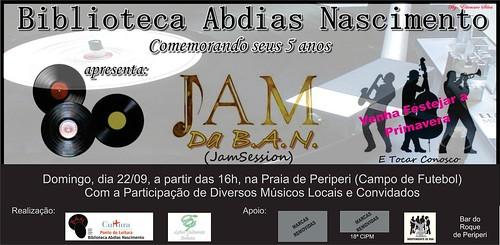 JAM da B.A.N. 09/2013 by Biblioteca Abdias Nascimento