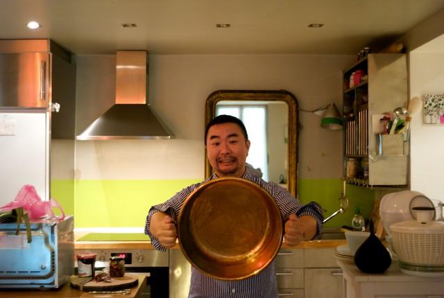 Marché de Vanves コンフィチュール用の銅鍋買っちゃった!