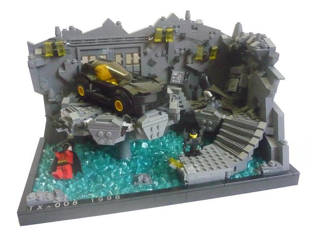 The Batcave - The Bat Buggy Station