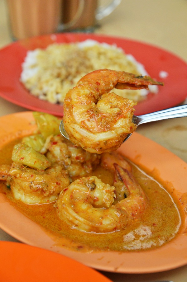 Curry Sea Water Prawns