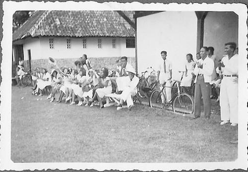 Class of Mulo Manggarai in Meester Cornelis in the Dutch East Indies around 1932
