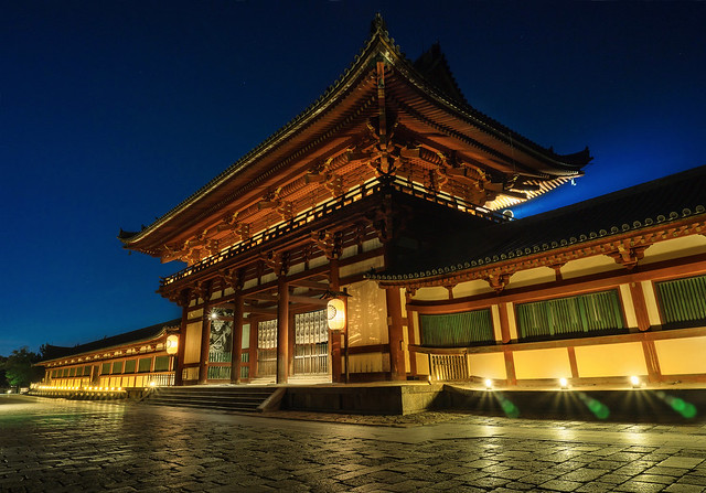 Night at Todaiji