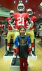 Jake at the 49ers store