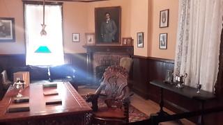 Booker T. Washington's study inside The Oaks
